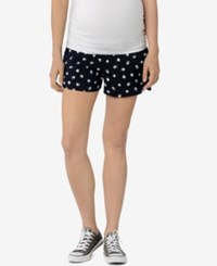 A Pea In The Pod Printed Maternity Shorts Daisy