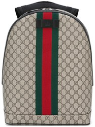 Gucci Webbing Stripe Backpack Nude Neutrals