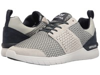 Supra Scissor Navy White Light Grey Navy Men's Skate Shoes Gray