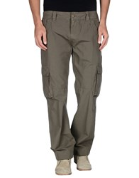Marlboro Classics Trousers Casual Trousers Men Military Green