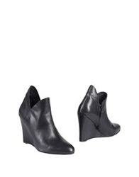 Silent Damir Doma Ankle Boots Black