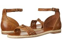 Frye Marlo Concho 2 Piece Brown Smooth Vintage Leather Women's Sandals
