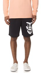 Obey Ope Athletic Shorts Black