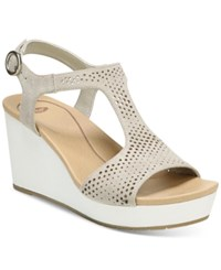Dr. Scholl's Selma Wedge Sandals Women's Shoes Grey
