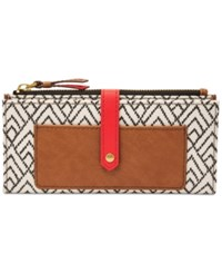 Fossil Keely Wallet White Black