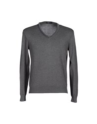 Zegna Sport Sweaters Lead