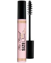 Too Faced Size Queen Mascara Pitch Black