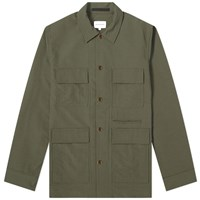Norse Projects Kyle Travel Overshirt Green