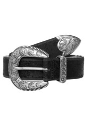 Vanzetti Belt Schwarz Metallic Black