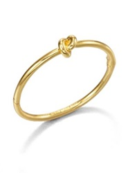 Kate Spade Sailor's Knot Bangle Bracelet Goldtone