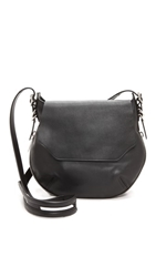Rag And Bone Bradbury Small Flap Hobo Black