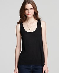 Guess Tank Relaxed Boyfriend Black