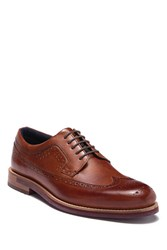 Ted Baker Mition Leather Wingtip Derby Tan