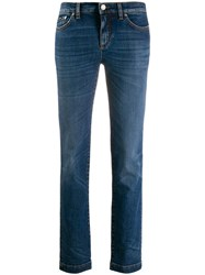 Dolce And Gabbana Skinny Fit Jeans Blue