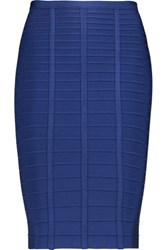 Herve Leger Bandage Skirt Royal Blue
