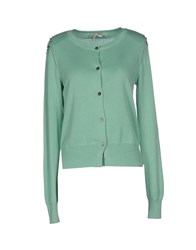 Atelier Fixdesign Knitwear Cardigans Women Light Green