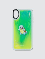 Casetify Squirtle 007 Pokedex Night Iphone Xs Max Case Green