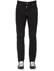 Dsquared 16.5Cm Cool Guy Stretch Cotton Jeans Black