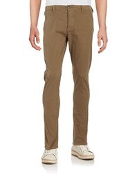 Selected Skinny Chino Pants Camel