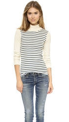 Edith A. Miller Combo Turtleneck Natural Spruce Sailor Natural