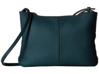 Ecco Jilin Small Crossbody Dark Petrol Cross Body Handbags Multi