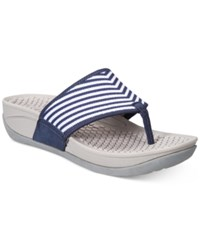 Bare Traps Dasie Outdoor Sandals Women's Shoes Navy Striped Multi