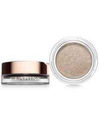 Clarins Ombre Iridescent Cream To Powder Eye Shadow Silver Ivory