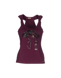 Galliano Topwear Vests Women Garnet