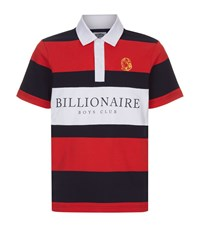 Billionaire Boys Club Stripe Polo Shirt Male Red