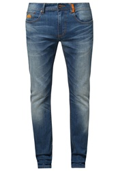 Superdry Corporal Slim Slim Fit Jeans Hobo Blue Dark Blue