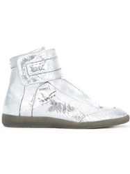 Maison Martin Margiela 'Future' Hi Top Sneakers Grey