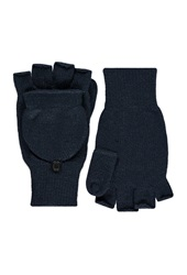Forever 21 Convertible Fingerless Gloves Navy