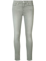 7 For All Mankind 'Roxanne' Skinny Jeans Grey