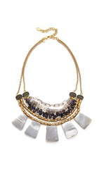 David Aubrey Amanda Statement Necklace Multi