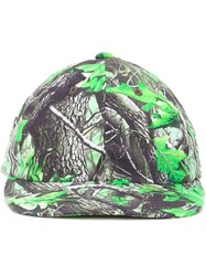 Phenomenon Camouflage Panel Cap Green