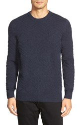 Men's Boss 'T Escobar' Textured Crewneck Sweater