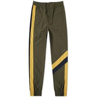 Wooyoungmi Logo Shell Track Pant Green
