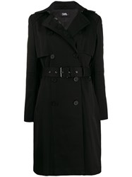 Karl Lagerfeld Belted Trench Coat 60
