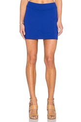 Susana Monaco Mini Skirt Blue