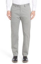 Men's Peter Millar 'Perfect' Straight Leg Trousers Grey