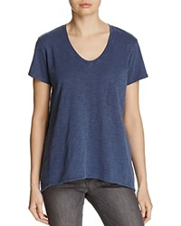 Wilt V Neck Pocket Tee Essential Pick Sulfur Blue