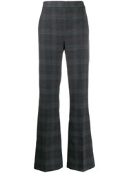Essentiel Antwerp Plaid Wide Leg Trousers 60