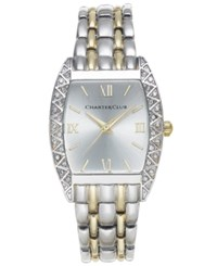 Charter Club Two Tone Bracelet Watch 22X30mm Only At Macy's Two Tone