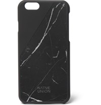 Native Union Clic Marble And Rubber Iphone 6 Case Black