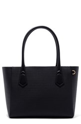 Dagne Dover 365 Signature Classic Faux Leather Tote Black Onyx