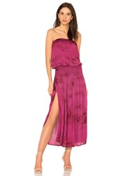 Blue Life Good Karma Maxi Dress Burgundy