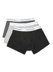 Topman Grey Trunks 3 Pack
