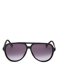 Hugo Boss Acetate Aviator Gradient Sunglasses