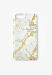 Missguided Gold Marble Iphone 7 Case Multi