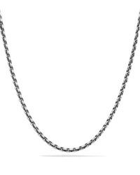 David Yurman 4.6Mm Sterling Silver Knife Edge Chain Necklace